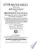 Commentaires sur les Mémoires de Montecuculi