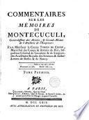 Commentaires sur les memoires de Montecuculi