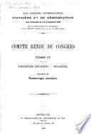 Compte rendu du Congrès ...: Section III. Technologie sanitaire