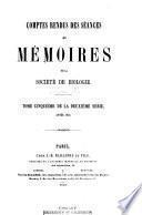 Comptes rendus hebdomadaires des seances et memoires de la Societe de biologie