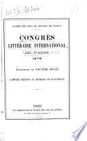 Comptes rendus in extenso et documents