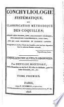 Conchyliologie systematique et classification methodique des coquilles