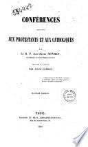 Conférences adressées aux protestants et aux catholiques