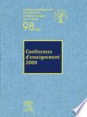 Conférences d'enseignement 2009 (n°98)