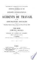 Congrés international des accidents du travail