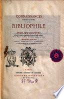 Connaissances nécessaires a un bibliophile par Edouard Rouveyre ..