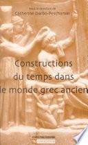 Constructions du temps dans le monde grec ancien