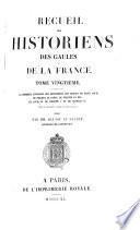 Contenant la premiere livraison des monumens des regnes de saint Louis, de Philippe le Hardi, de Philippe le bel, de Louis X, de Philippe V et de Charles IV ... jusqu'en MCCCXXVIII