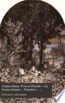 Contes bleus: Yvon et Finette -- La bonne femme -- Poucinet -- Contes bohêmes -- Les trois citrons -- Pif paf