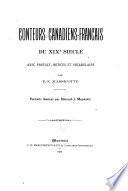Conteurs canadiens français du XIX0 siècle