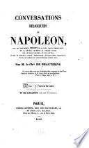 Conversations religieuses de Napoléon