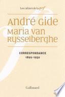 Correspondance (1899-1950)