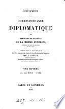 Correspondance diplomatique [ed. by J.B.A.T. Tenlet]. (Recueil des dépêches, rapports des ambassadeurs de France en Angleterre et en Écosse pendant le xvie siècle). Publ. par A. Teulet