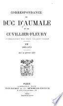 Correspondance du duc d'Aumale et de Cuvillier-Fleury