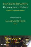 Correspondance générale -