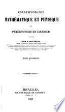Correspondance mathématique et physique