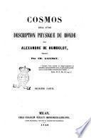 Cosmos essai d'une description physique du monde par Alexandre de Humboldt