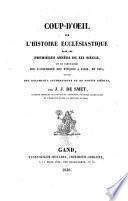 Coup-d'oeil sur l'histoire ecclésiastique dans les premières années du XIXe siècle
