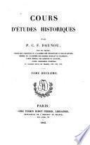 Cours D'études historiques: Usages de l'histoire. Géographie