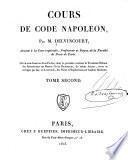 Cours de Code Napoléon