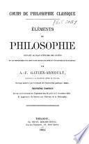 Cours de philosophie classique