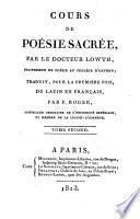 Cours de poésie sacrée