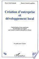 Création d'entreprise et développement local