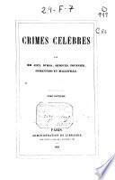 Crimes célèbres: 1841 (334 p.)