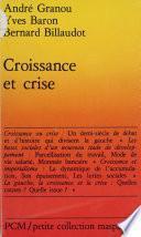 Croissance et crise