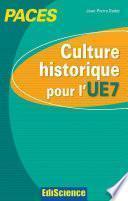 Culture historique pour l'UE7