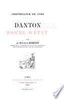 Danton, homme d'État