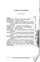 De l'inoculation syphilitique et de ses rapports avec la vaccination