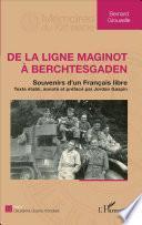 De la ligne Maginot à Berchtesgaden