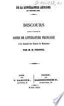 De la littérature antique au Moyen-âge