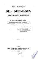 De la politique des Normands pendant la conquête des Deux-Siciles