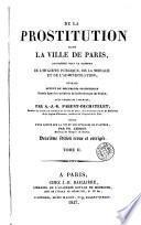 De la prostitution dans la ville de Paris, 2