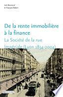 De la rente immobilière à la finance