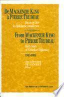 De Mackenzie King À Pierre Trudeau