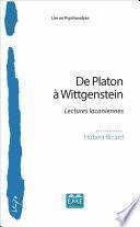 De Platon à Wittgenstein