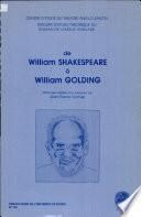 De William Shakespeare à William Golding