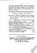 Declaration du Roy, concernant les chirurgiens des provinces
