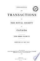 Déliberations Et Mémoires de la Société Royale Du Canada