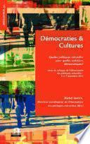 Démocraties et cultures.