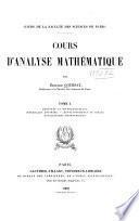Derivees et differentielles. Integrales definies. Developpements en series. Applications geometriques