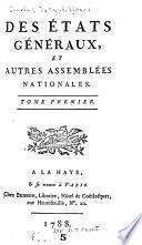 Des États généraux et autres assemblées nationales