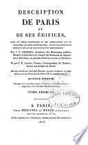 Description de Paris et de ses édifices