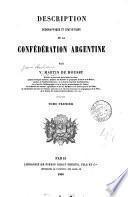 Description géographique et statistique de la Confédération Argentine