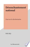 Désenchantement national