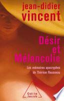 Désir et Mélancolie