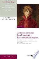 Destinées féminines dans le contexte du naturalisme européen